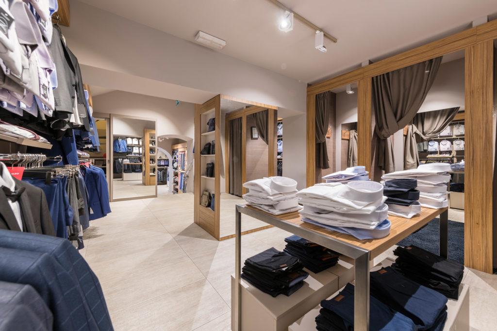 Primjer poslovnog prostora trgovine odjećom 1