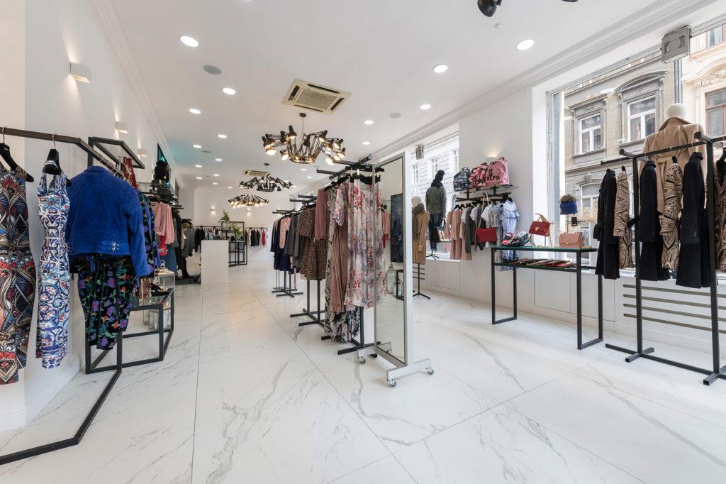 Primjer poslovnog prostora trgovine odjećom 2