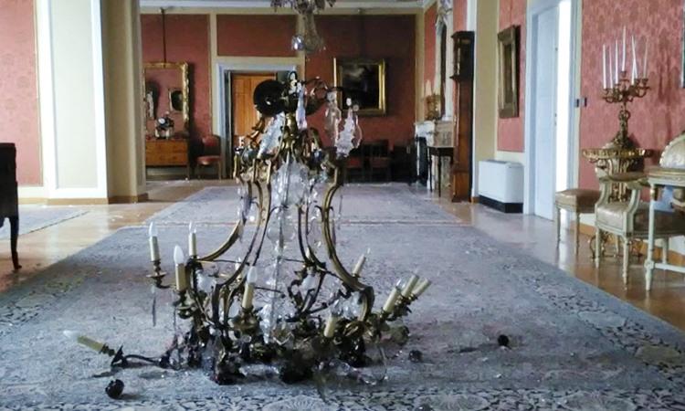 Centralni salon u Državnoj rezidenciji Visoka 22