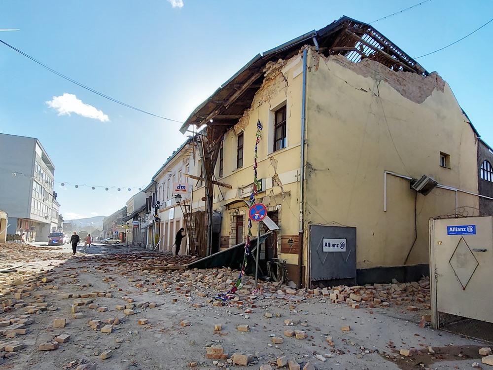 Petrinja, Ulica Vladimira Nazora